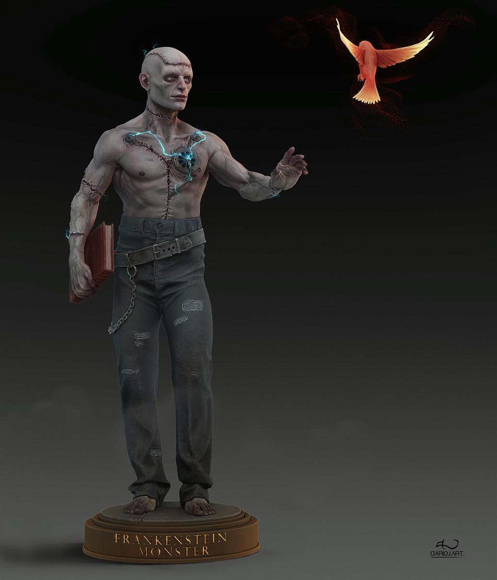 Frankenstein monster by DarioJart