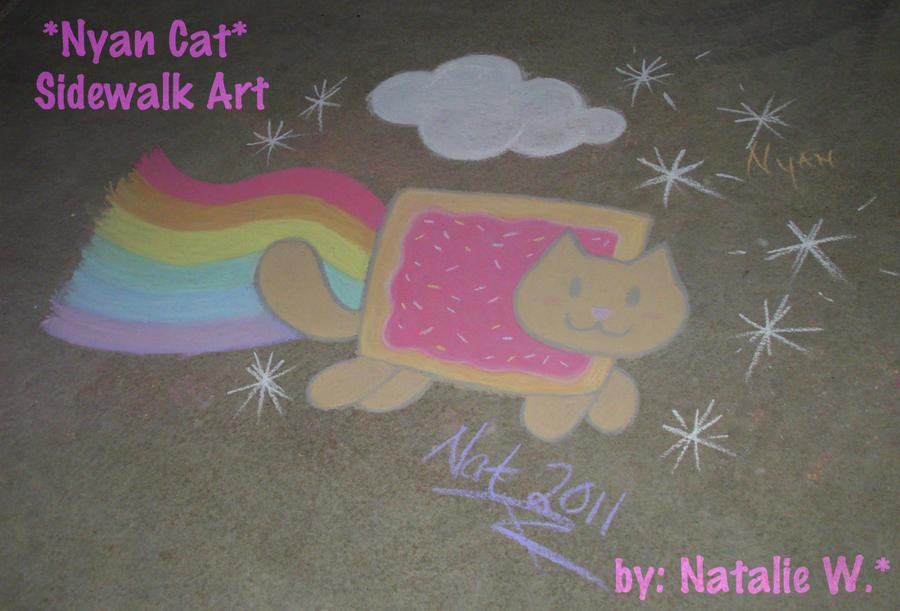 .: Nyan Cat LIVES :. by tira-chan