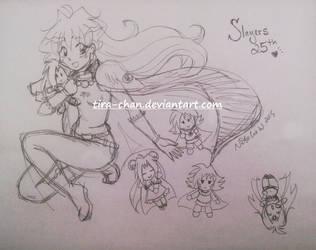 Slayers 25th! by tira-chan
