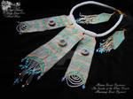 Jewellery set   Secrets of the White Desert by LadyLunarCat