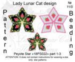 Peyote star 18PS022 part 1-3 by LadyLunarCat
