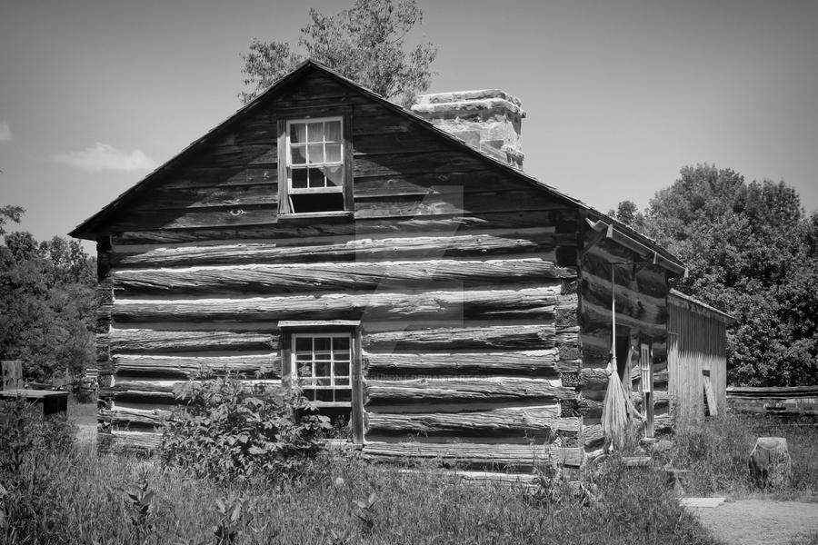 Old house in Upper Canada Village, Ontario, Canada by ClaudeDupont