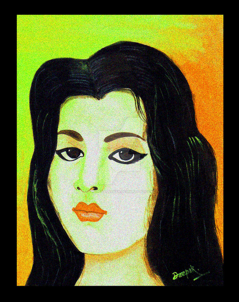 The Portraite by TheDevilDeepak