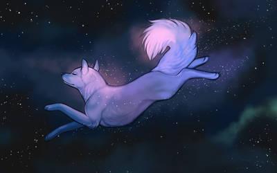 Cosmic Journey by little-owlette