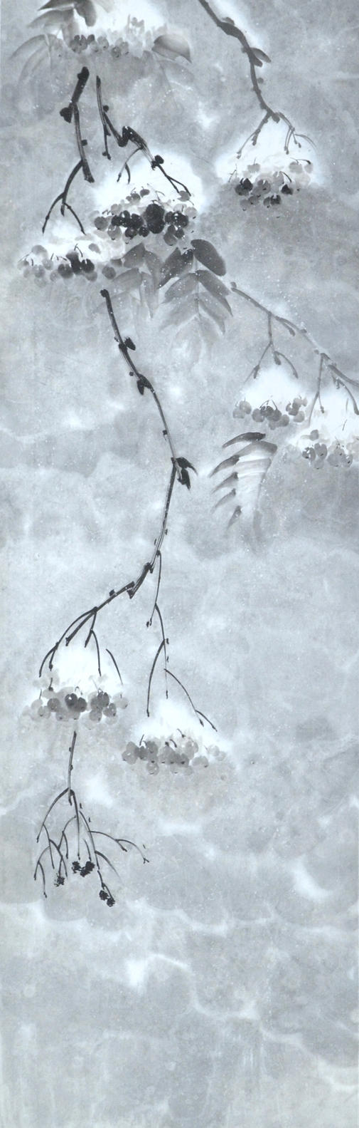 Sumie Rowan under snow by bsshka