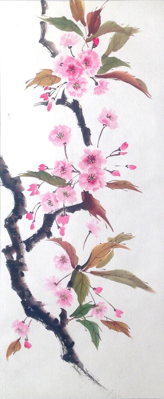 Sumie sakura by bsshka