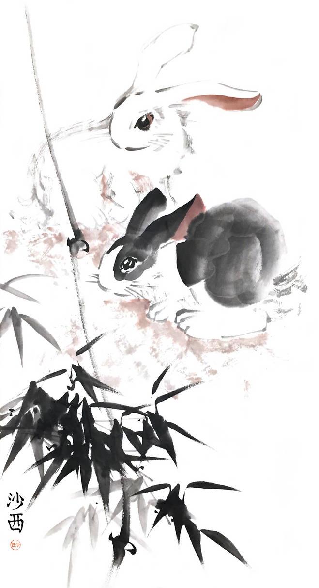 [Sei] Rabbits and bamboo