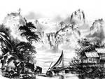 [Sumie] Landscape