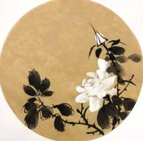 [Sumie] Roses