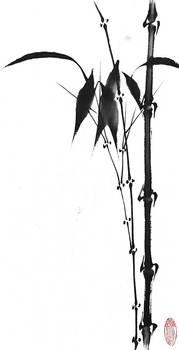 [Sumie] Bamboo