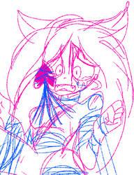 Unfinished Doodle by PrincessMagicRose