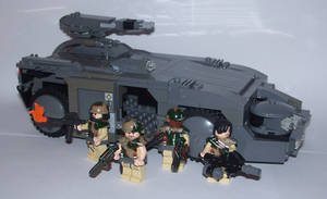 M577 Armored Personnel Carrier by Brickule