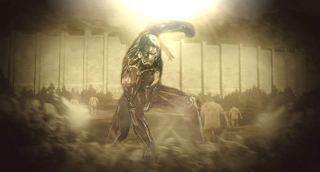 Armored Titan Wallpaper Made By Dominator15 HD