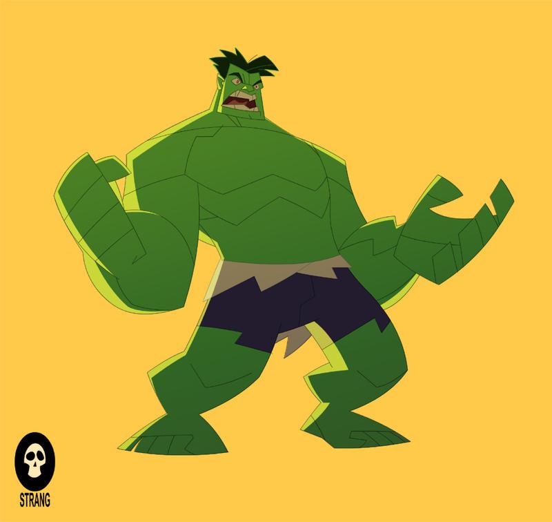 The Hulk by VonToten