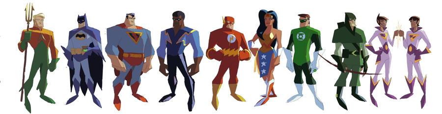 Super friends by VonToten