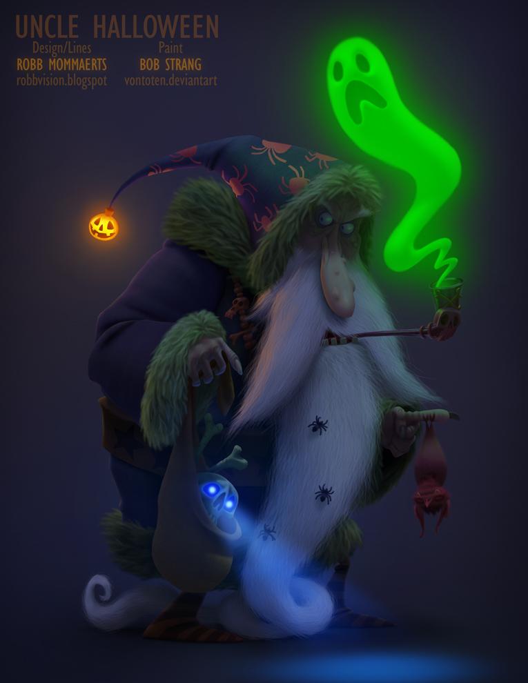 Uncle Halloween by VonToten