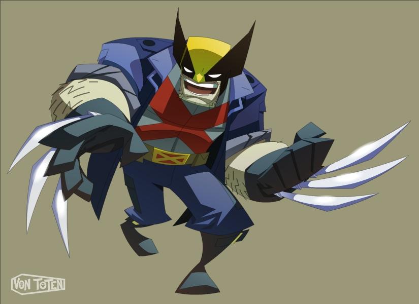 Wolverine redux by VonToten