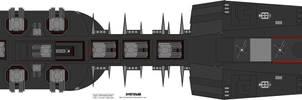 Farscape Scarran Dreadnought 1