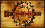Steampunk Farscape HMS Rotten Cog by LykanHybrid