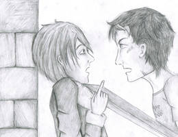 Nico and Percy: Betrayal by Rosey-Thorn