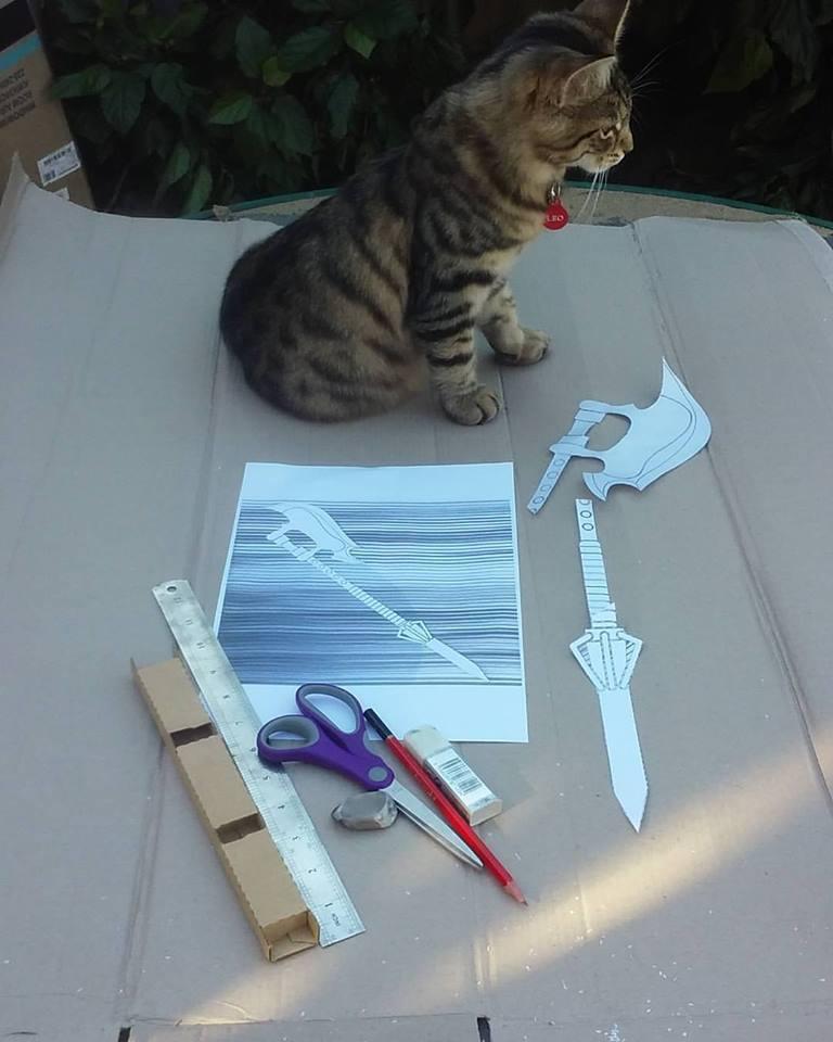DIY Slayer Scythe Project by carrie-lou
