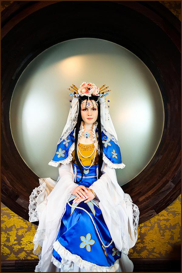 Shurei Hong: Pearl by general-kuroru