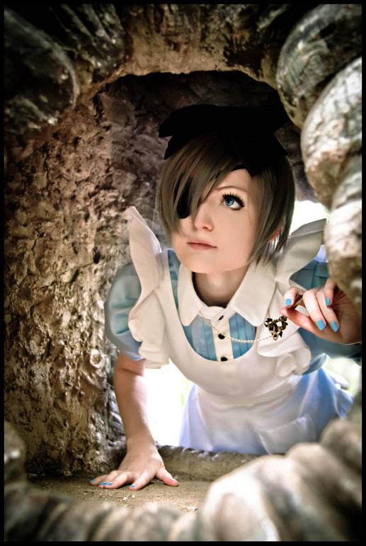 Ciel in Wonderland: Down the Rabbit Hole by general-kuroru