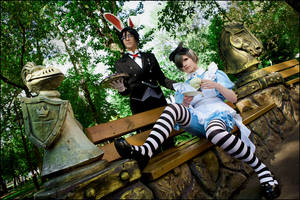 Ciel in Wonderland: Tea Party