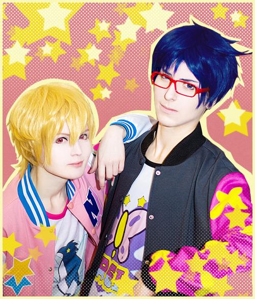 Free! Rei and Nagisa by general-kuroru