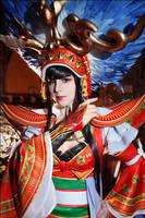 Sangokushi Taisen: Lady Sun by general-kuroru