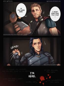 Thor and Loki by egoNorainu