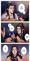 The Untamed - WangXian and chickens