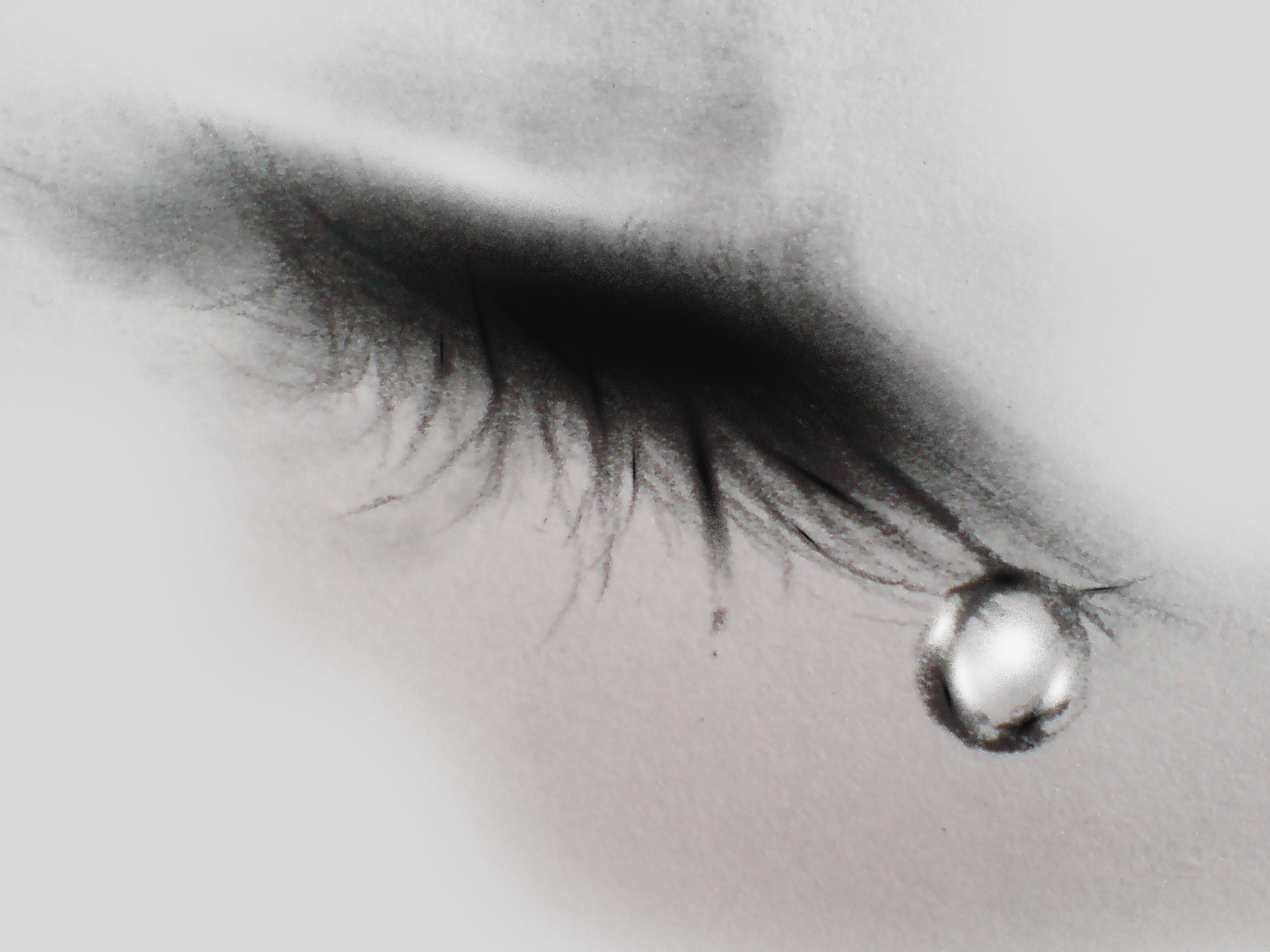 Crying eyes by shadagishvili on DeviantArt