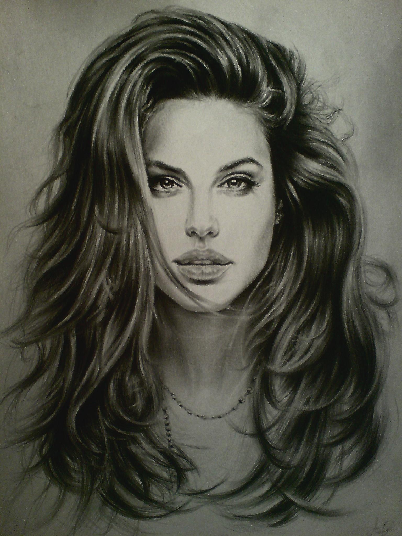 Angelina Jolie By Shadagishvili On DeviantArt