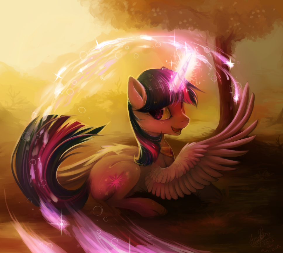 Twilight magic by Miltvain