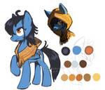 Pony OC - Silver Strike