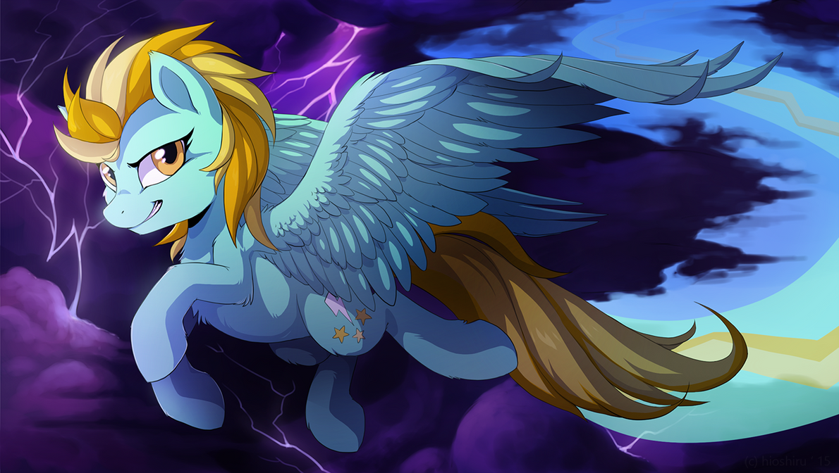 Lightning Dust by Miltvain