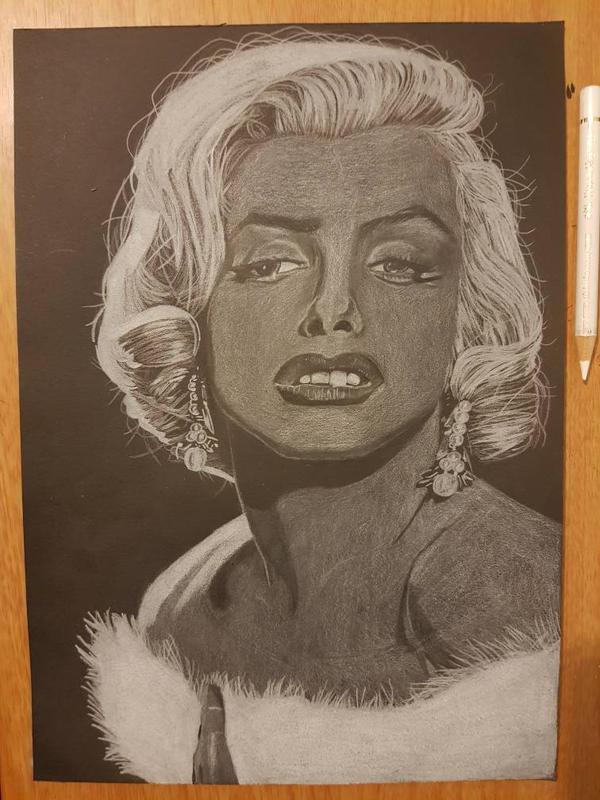 Marilyn monroe by yorkshirepudding1990
