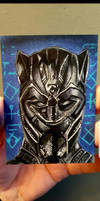 black panther ACEO #115