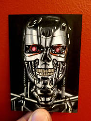 terminator ACEO #145 by yorkshirepudding1990