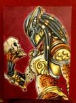 female predator ACEO #510