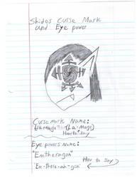 Shidos eye and curse powers