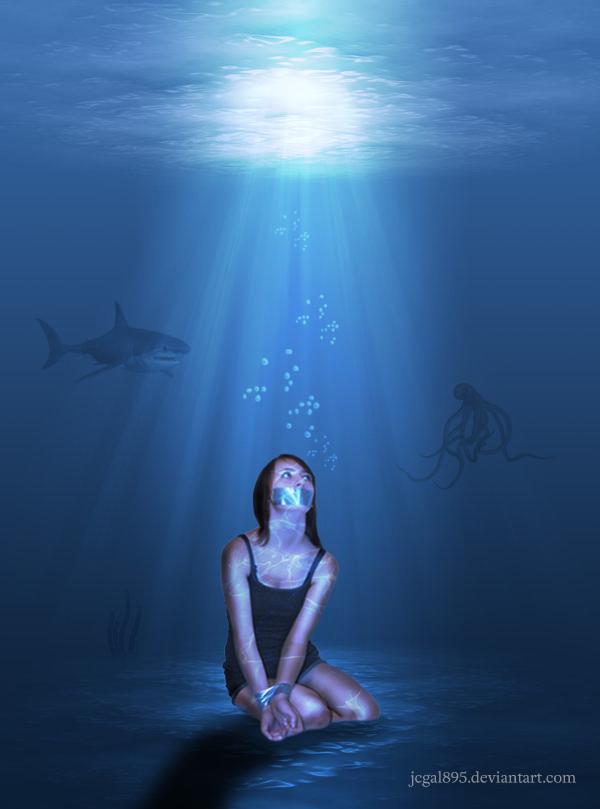Underwater Bound by jcgal895 on DeviantArt