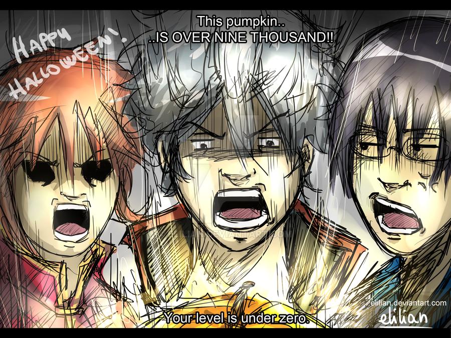 Gintama - Happy Halloween! by Elilian