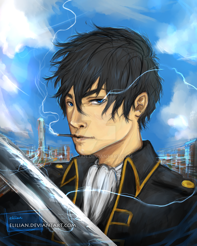 Hijikata Toshirou - Fighting to protect by Elilian