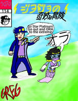 Sonichu's Bizarre Adventure by 1GREG7-YT