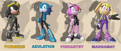 Sonic Forces - Our Avatars by CreativePlanetDA