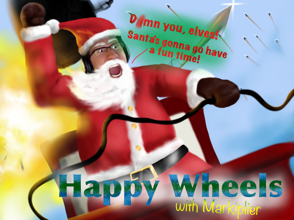 Happy Wheels with Markiplier by flyingGOPHER ...