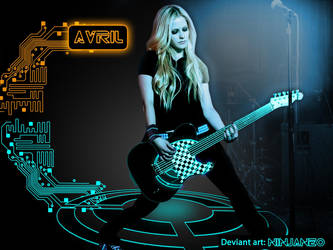 Avril tron style by Ninjaneo