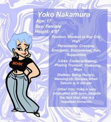 LEGENDARY GIRL SAKURA: Yoko Nakamura